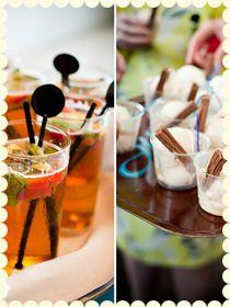 wedding ice creams - gin & tonic sorbets