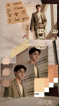 Find more awesome linyi images on PicsArt. Aesthetic Images, Kpop Aesthetic, Aesthetic Wallpapers, Drama Korea, Korean Drama, Song Wei Long, Cha Eun Woo Astro, Collage Background, Rainbow Aesthetic