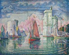 The Athenaeum - Entry to the Port of La Rochelle (Paul Signac - )