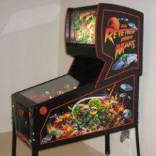 revenge from mars pinball machine | Revenge From Mars Pinball Machine | Pinball | Pinterest