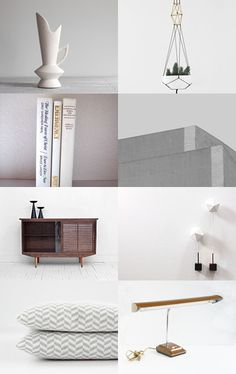 the beauty of minimalism -- treasury by Barbara (BelleAccessoires.etsy.com)