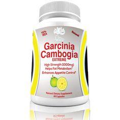Garcinia Cambogia-Carb Blocker Extreme, Diuretic and Fat Burner Best Seller - All Natural Appetite Suppressant -Carb Blocker
