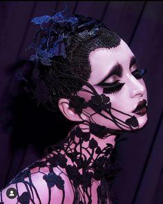 Goth Makeup, Clown Makeup, Sfx Makeup, Makeup Inspo, Makeup Art, Makeup Inspiration, Hair Makeup, Halloween Face Makeup, Beauty Makeup