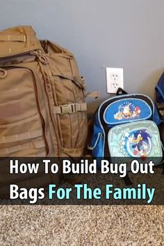 There are countless articles on how to make bug out bags, but what if you have to bug out with your spouse, kids, and other family members?