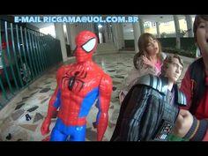 Homem Aranha Spiderman Darth Vader Guerra nas Estrelas Adivinha Pegadinh...