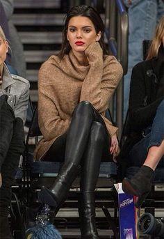 Kendall being an elegant, vampy babe
