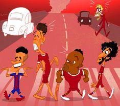 Сказочной ливерпульской четверки больше нет - Футбольные карикатуры - Блоги - Sports.ru