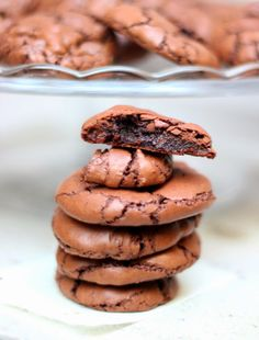 CAMELIE: Cookies brownie au chocolat noir