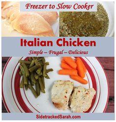 Italian Chicken: sim