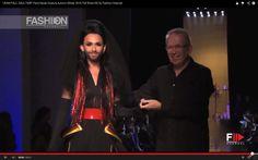 """""""JEAN PAUL GAULTIER"""" feat. Conchita Wurst  Paris Haute Couture Autumn Wi..."""
