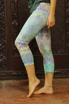 Hey, I found this really awesome Etsy listing at https://www.etsy.com/listing/246400981/succulence-leggings-capri-34-leggings