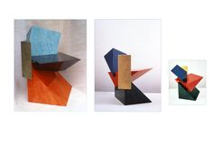 Fred Baier prism chair