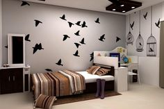 #230thk Designs that represents you... Making your den #Exclusive, #Wow & #Awesome...  Area: Daughter's Room