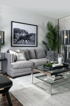 Minimalist Living Room Ideas - Discover your preferred Minimalist living room images right here. Check out pictures of inspiring Minimalist living room design ideas to produce your perfect home. Living Room Colors, Living Room Grey, Living Room Furniture, Living Room Decor, Office Furniture, Living Room Modern, Living Spaces, Hgtv Living Rooms, Interior Design Living Room