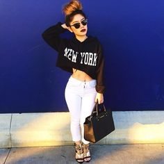 Swag. | More outfits like this on the Stylekick app! Download at http://app.stylekick.com
