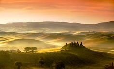 Morning Light in Hyrule?  Beautiful Italy sunrise.