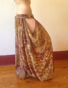 Lillyloons:. Vintage fabric Pantaloons with от NymphaeaByLilly