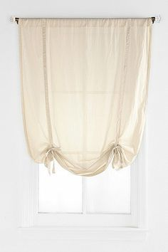 Draped Shade Curtain - Urban Outfitters // 34.00 per panel (24.00 on sale)