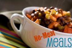 Weekly Menu: Meatless Meals