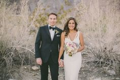 Elegant Palm Springs Wedding Ruffled