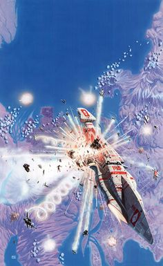 The stunning SF illustrations of Peter Elson (1947-98)