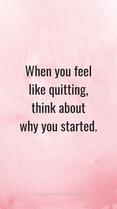BEST MOTIVATIONAL & INSPIRATIONAL GYM / FITNESS QUOTES - when you feel like quitting think about why you started