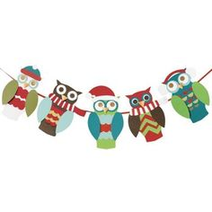 Holiday Owl Garland Kit - Paper Source