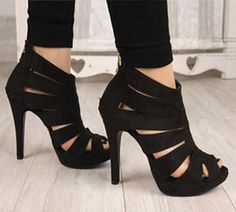 Sexy Womens Platform Pump Stiletto High Heels Ankle Boots Sandal Shoes…