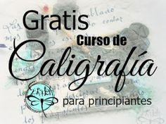 Scraptella: Curso de caligrafia. Lección 1