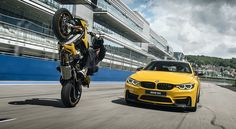 Спецсерия Competition BMW M4 и BMW S1000R в России