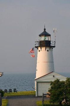 Warwick Neck lighthouse, Rhode Island