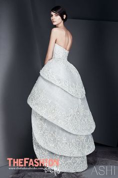 Certainly Not For The Average Bride The Highlow Wedding Dress - How Much Is The Average Wedding Dress