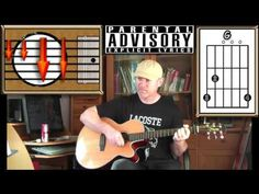 Boulevard Of Broken Dreams - Green Day - Acoustic Guitar Lesson (easy-ish) - YouTube