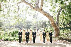 diana   edward | wedding | descanso gardens | los angeles // wedding party // bridal party