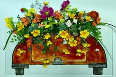 Whose Birthday is around the corner? A flower delivery is on its way in my glassmobile 👩🏼🎨🎨🌿🌸🍾cheers! My Glass, Glass Art, Around The Corner, Flower Delivery, Glass Design, Corporate Events, Fused Glass, Different Colors, Fine Art America