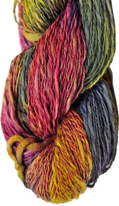 Lontué is a gorgeous half cotton, half linen matte yarn from Araucanía. Hand dyed in Chile, this textured 2 ply yarn combines the soft loft of cotton with the strength of linen making it the perfect choice for lighter summer garments and accessories. Lontué has wonderful shade variations between the fibers that adds a lovely depth to these vibrant colorways. Find at All About Yarn in Tigard, Oregon.