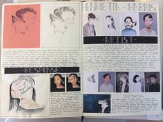 A Level Textiles Sketchbook, Sketchbook Layout, Gcse Art Sketchbook, Sketchbook Ideas, Sketchbook Inspiration, Artist Research Page, Art Sketches, Art Drawings, Photography Sketchbook
