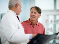 10 Questions Every Man Should Ask His Doctor Men over 50 can help physicians guide them through prostate cancer screenings, sleep apnea, heart disease and getting healthy. -- aarp.org