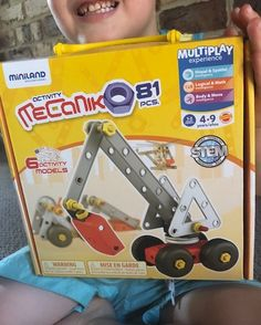 Miniland-Mecaniko-Review Toys For Boys, Kids Toys, Social Skills, Motor Skills, Educational Toys, Construction, Activities, Gifts, Childhood Toys