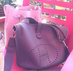 Hermes bag and Mansur Gavriel