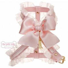 Harnais rose My Angel Collection For Pets Only pour chiens