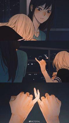 Anime Girlxgirl, Yuri Anime, Anime Couples Manga, Cute Anime Couples, Anime Sisters, Manga Story, Cute Couple Art, Lesbian Art, Cute Anime Pics
