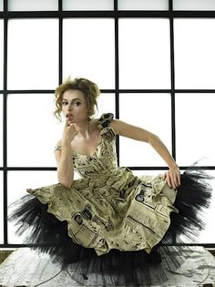 Helena Bonham Carter. A truly unique beauty and extraordinary actress. She's mad as a hatter and I love it!
