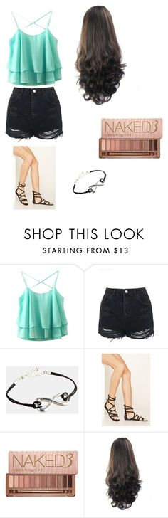 """Set #1"" by summergirl127 ❤ liked on Polyvore featuring Topshop, ASOS, Forever 21 and Urban Decay"