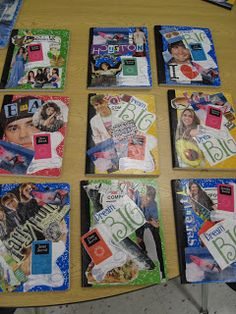 2nd Grade Shenanigans: Get Your Mod Podge On....Journal Covers