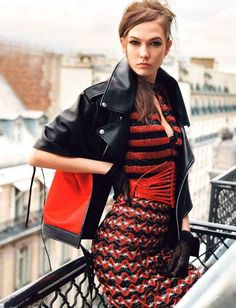 Karlie Kloss for British Vogue - May 2012