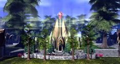 Fantasy Faire 2018 - Pools of Ethuil Spring Tree, Pathways, Elves, Pools, Mystic, Shades, Fantasy, Lights, Explore