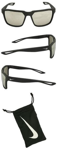 Sport Protective Eyewear 158938: New Nike- Mens Bandit Sunglasses Matte Black Silver Gray Super Silver Flash -> BUY IT NOW ONLY: $119.99 on eBay!