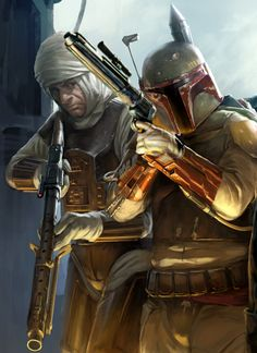 Bounty Hunters: Dengar and Boba Fett