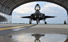 Staff Sgt. Matthew Stormer performs a preflight inspection on a F-35 Lightning II joint strike fighter before a training and testing mission June 20, 2013, at Eglin Air Force Base, Fla.The aircraft is still in the testing phase and will be used by the Air Force, Navy and Marine Corps, along with international partners such as the United Kingdom. Stormer is a dedicated crewchief assigned to the 33rd Maintenance Group.